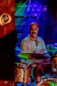 "Drummer Charles ""Chaz"" Trippy serves up some soulful blues rhythm with Gumbo Boogie. Trippy also played with the Gregg Allman Band during the late 1980s when the band released the covers I'm No Angel and Just Before The Bullets Fly."