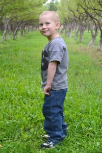 BRAD COATES PHOTO Austin Bradley Coates was 4 when he died in 2014 after eating a grape that lodged in his throat during lunch. His family and friends will host the 3rd annual ABC Superhero Fun Run Oct. 8 to keep the boy's memory alive and raise funds for the Lynn Sowers Memorial Foundation.