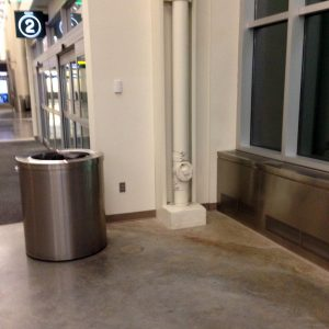 Terminal 2 at the Minneapolis airport where a lone outlet is accompanied by a cement floor is a far cry from the comfort of Tampa's airport for overnighting.
