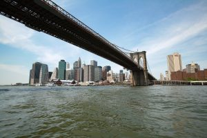 Mitch Traphagen Photos Sailing under the Brooklyn Bridge seven years ago, I had no idea that someday it would look like home.
