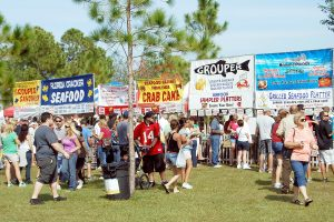 LOIS KINDLE PHOTOS More than 25,000 people are expected to attend the upcoming Ruskin Seafood Festival to congregate, dine, be entertained and engaged.