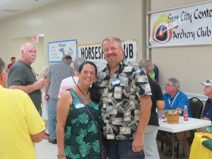 "Janet and Gary Mull, who moved here in August from Apollo Beach, were impressed with the event. ""It is nice to meet people and discover all the fun things and activities you can get involved with,"" they said."