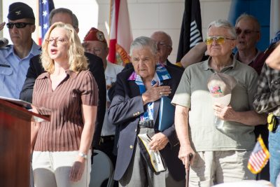 Retired USN Commander Ed Socha of Sun City Center, a Pearl Harbor survivor, was the keynote speaker at a Pearl Harbor Day ceremony in Tampa in 2013. His words stunned the audience into absolute silence. All in attendance were honored by his presence. Today it is likely that he is the only remaining survivor in South Hillsborough.