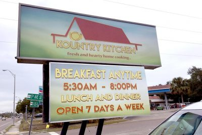 Area residents are 'thrilled' to have this new eatery in Ruskin. Open seven days a week, it serves breakfast, lunch and dinner. LOIS KINDLE PHOTO