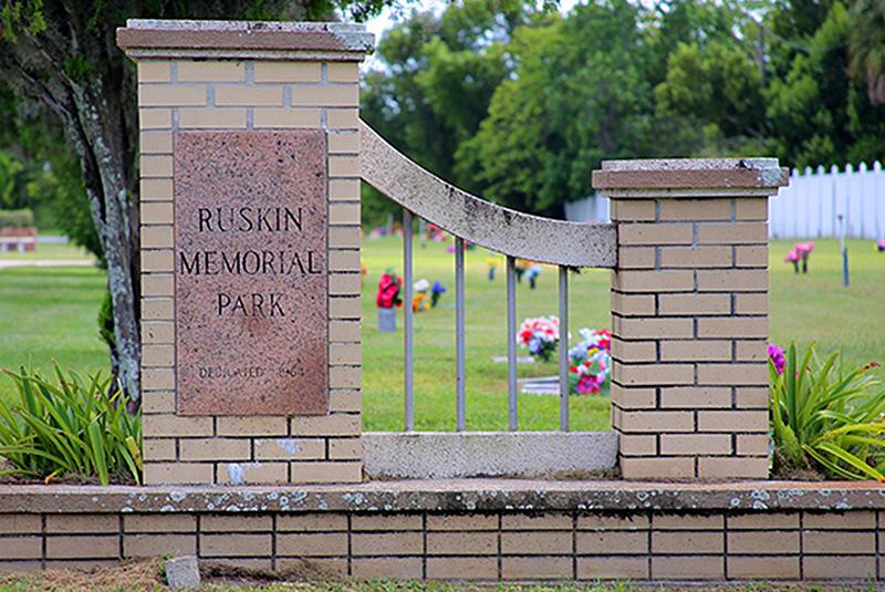 Ruskin Memorial Park community cemetery needs benefactors