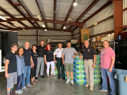 Local businesses donate to HCSO effort   The Observer News